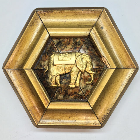 Gilt Frame with Elephant (4