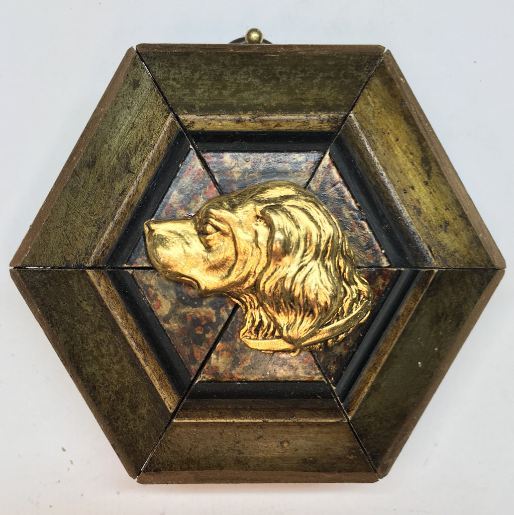 Gilt Frame with Handsome Dog (3.5