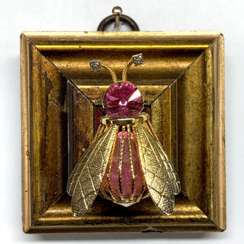 Gilt Frame with Bee Brooch (2.5