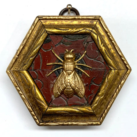 Gilt Frame with Fly on Coromandel (3.25