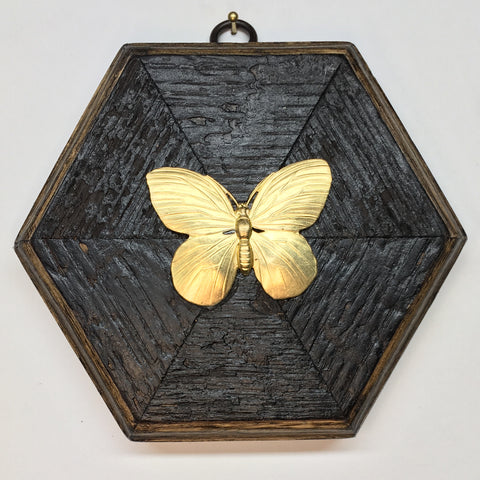 Bourbon Barrel Frame with Butterfly (5.25