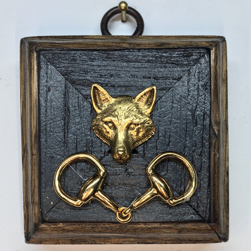 Bourbon Barrel Frame with Fox (2.5