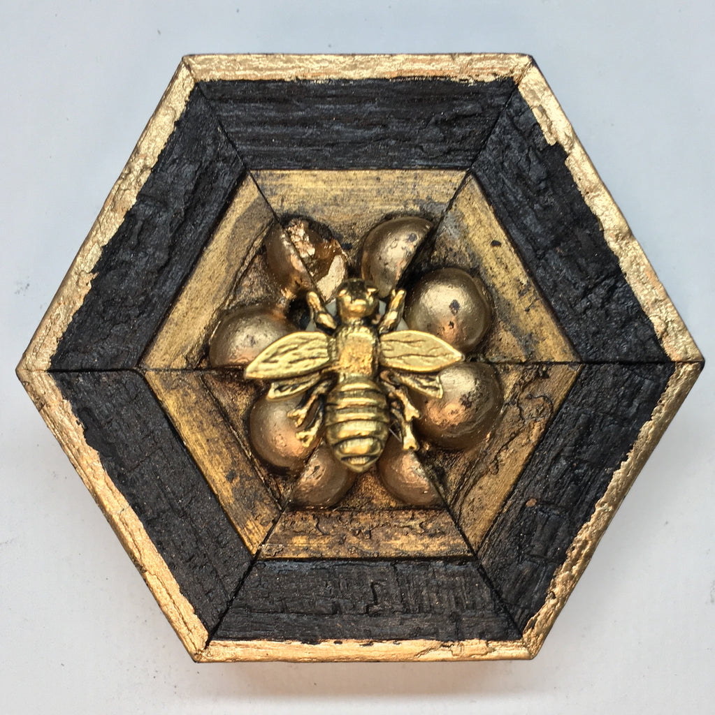 Bourbon Barrel Frame with Napoleonic Bee (3