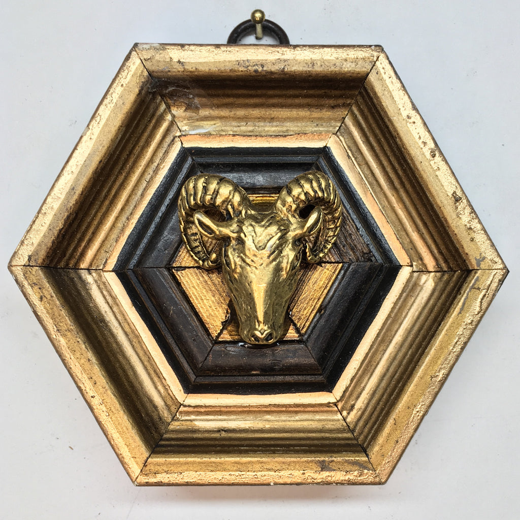 Gilt Frame with Ram (4.25