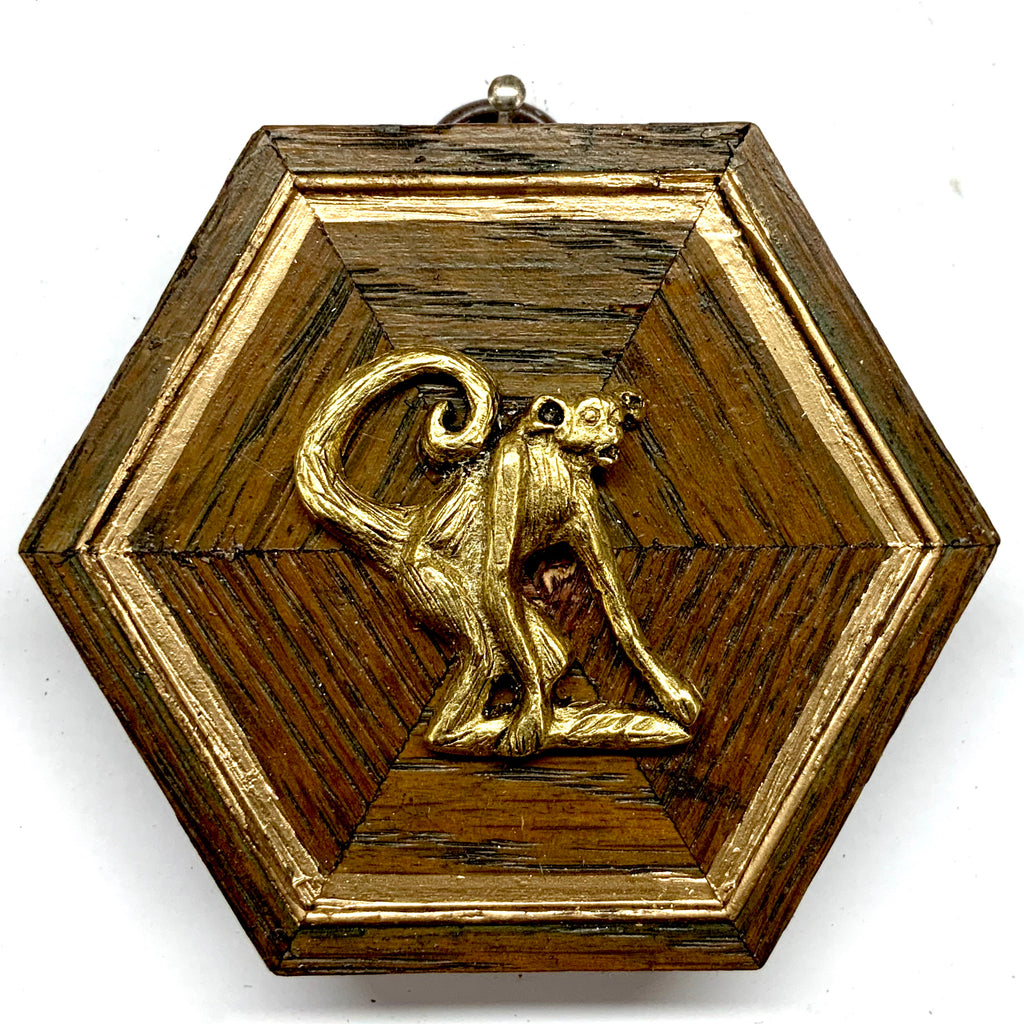 Wooden Frame with Monkey (3.25