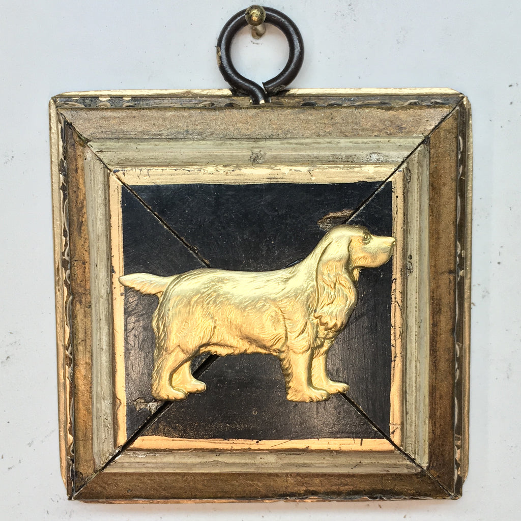 Gilt Frame with Spaniel (3