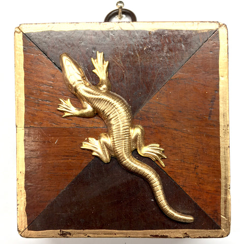 Wooden Frame with Lizard (3.25