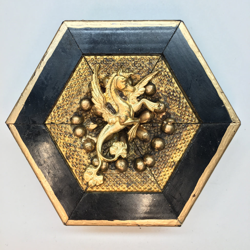 Lacquered Frame with Dragon (3.25