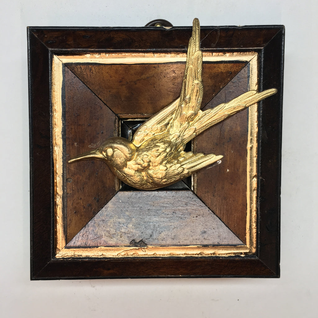 Lacquered Frame with Swallow (3.75