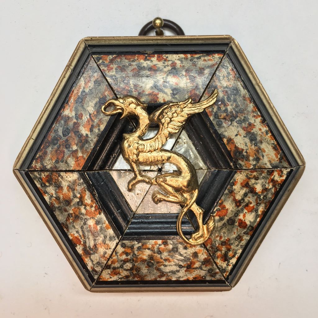 Marbled Frame with Dragon (3.5