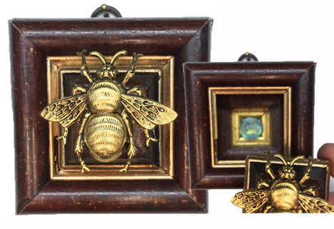 Wooden Frame with Secret Bee (2.75