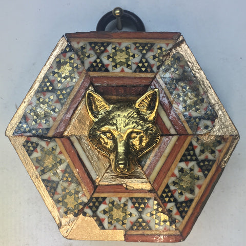 Micro Mosaic Frame with Fox (2.5