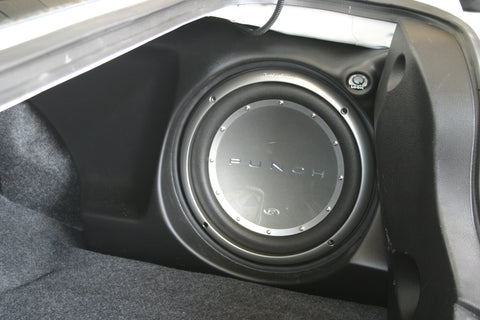 "Q Logic Q Customs QL-C1MST112A01 Single 12"" Subwoofer Enclosures Box GRILLS ARE NOT AVAILABLE FOR THIS MODEL"