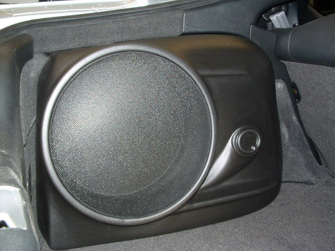 "Q Logic Q Customs QL-C1RSX110A Single 10"" Subwoofer Enclosures Box"