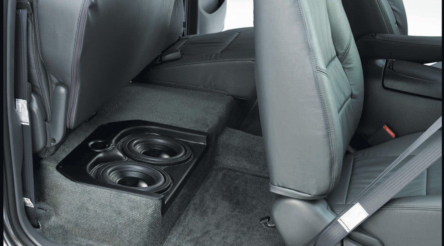 Aftermarket kick panels and subwoofer enclosures for your for 03 silverado door speakers