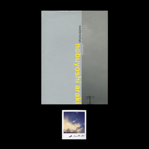 ARAKI, Nobuyoshi. Skyscapes. (Zurich): (Codax Publisher), (1999).  SIGNED AND WITH A POLAROID