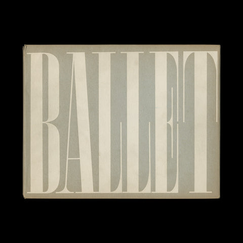 BRODOVITCH, Alexey. Ballet… New York: J. J. Augustin Publisher, (1945)