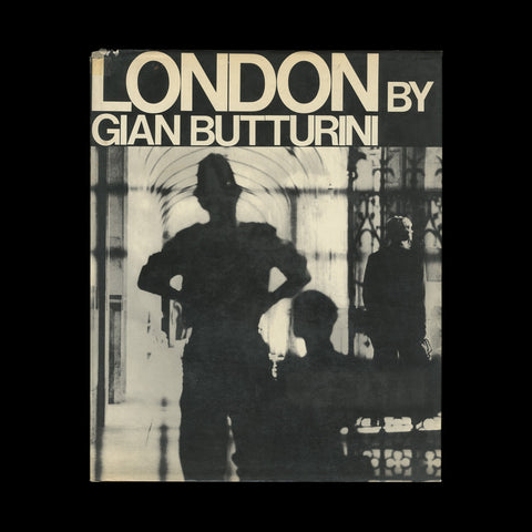 BUTTURINI, Gian. London. (Verona): (Editrice SAF), (1969).-PRESENTATION COPY
