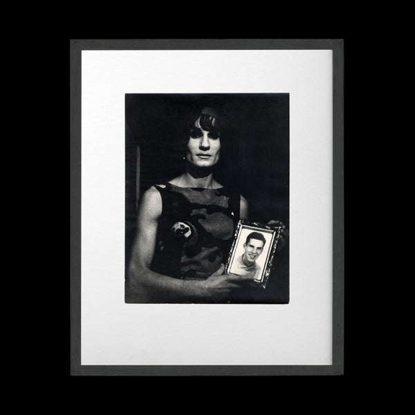 CARMI, Lisetta. Untitled print from the series I Travestiti 1965-1971.