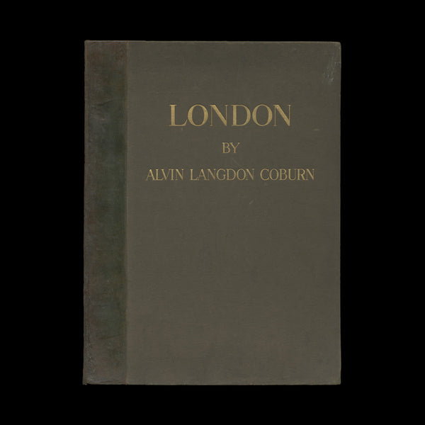 COBURN, Alvin Langdon. London. London: Duckworth & Co.; and Brentano's, New York, [1909].