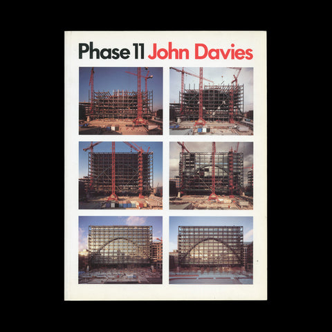 DAVIES, John. PHASE 11. (London): Davenport Associates and The Photographer's Gallery, (1991). ASSOCIATION COPY