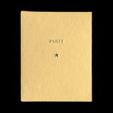 MIDDEL, Cristina de. Party. (London / Barcelona): (Archive of Modern Conflict / RM Verlag), (2013). SPECIAL BLUE EDITION