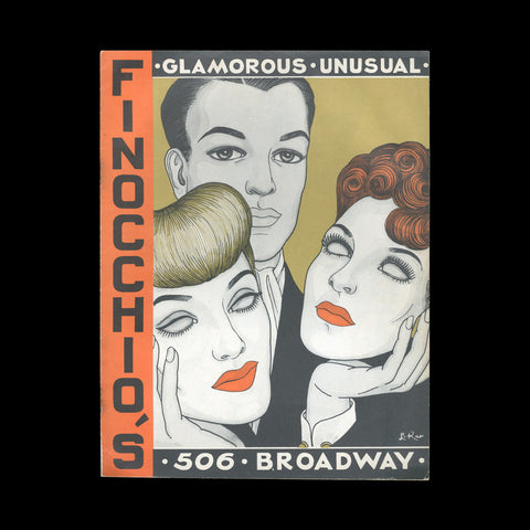 DRAG QUEENS - Finocchio's. (Hollywood: Amusement Concessions), [c.1947].