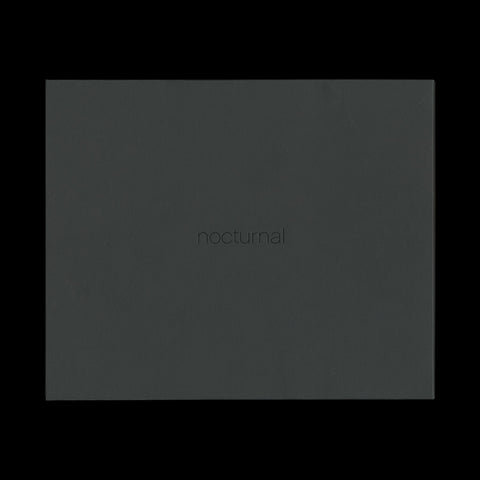FÖRSTER, Gerald. Nocturnal. [New York]: Paganucci Wolfington, (2008). - WITH A PRINT