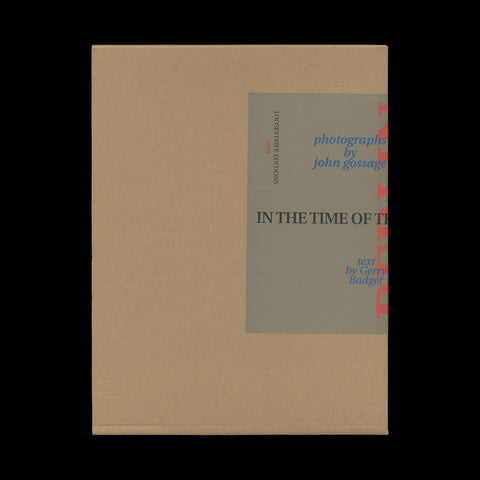 GOSSAGE, John. Berlin in the Time of the Wall... (Bethesda, MD): Loosestrife Editions, 2004. PRESENTATION COPY