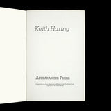 HARING, Keith. Keith Haring. [New York]: Appearances Press, 1981.