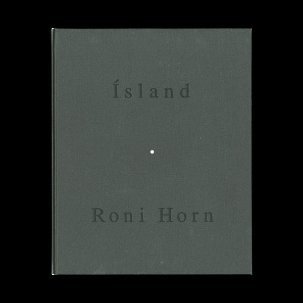HORN, Roni. To Place / Lava. [New York]: [Privately printed], 1992.-EDITION OF 100 WITH A PHOTOGRAPH