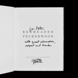 PATTERSON, Christian. Redheaded Peckerwood. (London): Mack, (2011). ASSOCIATION COPY