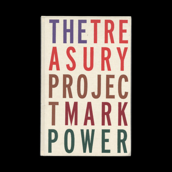 POWER, Mark. The Treasury Project. (Maidstone and London): Photoworks in association with Exchequer Partnership, (2002).