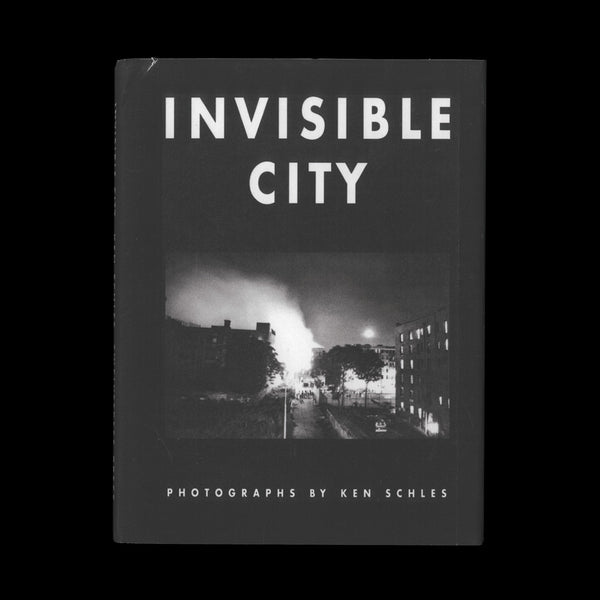 SCHLES, Ken. Invisible City. (Pasadena, California: Twelvetrees Press, 1988). ARTIST'S PERSONAL COPY