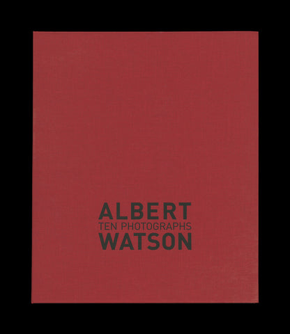 WATSON, Albert. Ten Photographs. [N.p]: [Self-published], (2007).