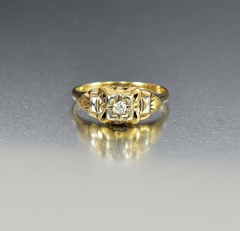 antique vintage deco art diamond engagement rings eragem