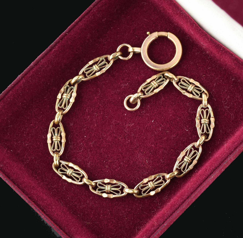 Vintage Pocket Watch Chain Bracelet - Boylerpf