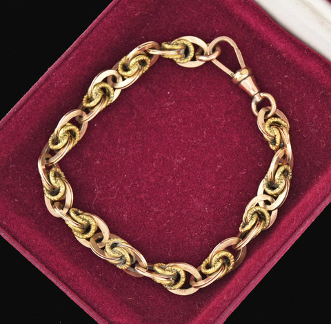Vintage Fancy Chain Love Knot Unisex Bracelet