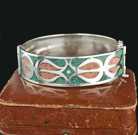 Scottish Geometric Vintage Agate Bracelet