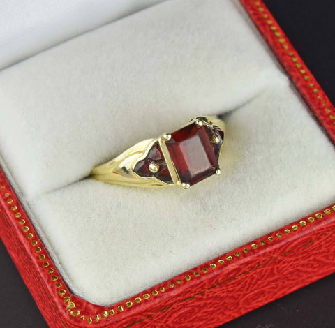 Antique Edwardian 14K Gold Sapphire Engagement Ring