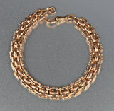 Edwardian Fancy Link Chain Bracelet - Boylerpf