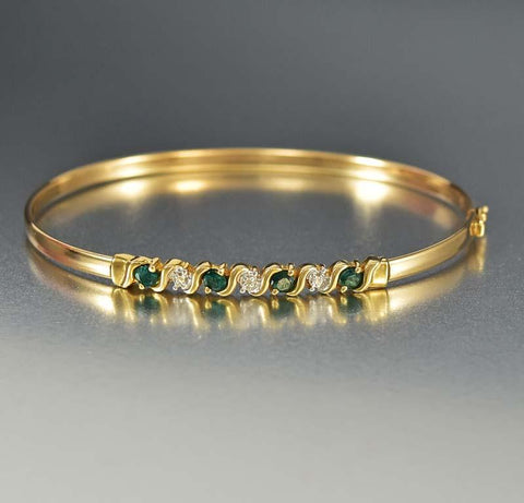 Edwardian English 18K Gold Opal Band Ring