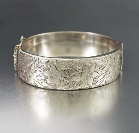 free round thick product silver bangle jewelry open shippingf bangles sterling double f slippy
