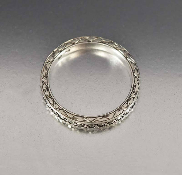 co platinum antique wedding diamond eternity tiffany band bands