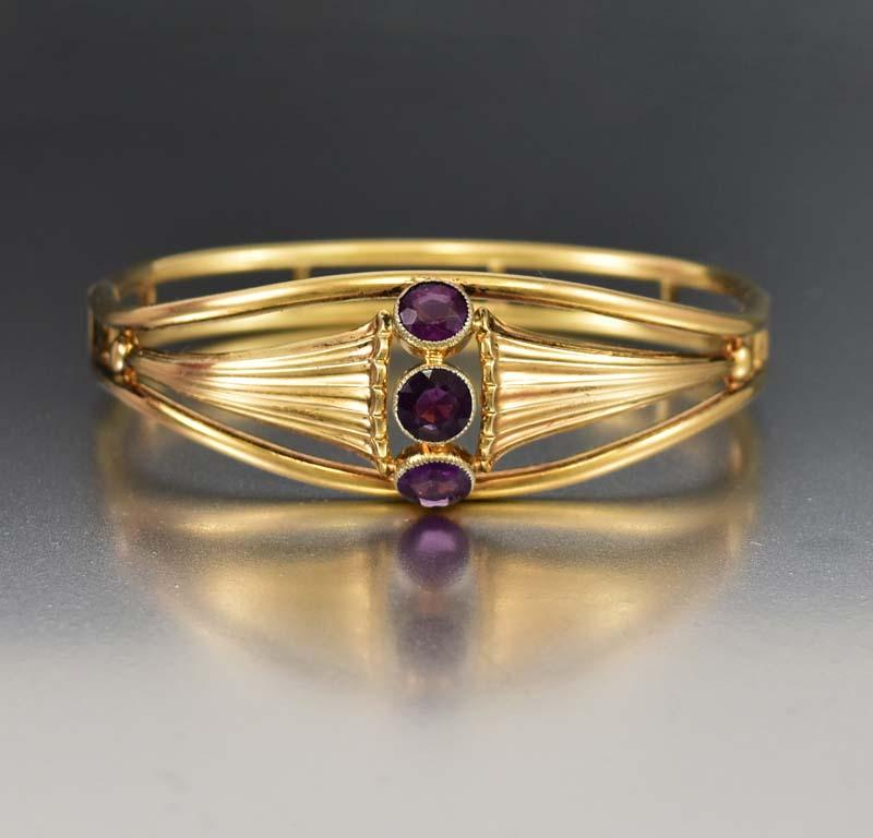 split bangle bangles products amethyst