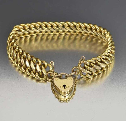 Victorian Engraved Gold Filled Bangle Bracelet