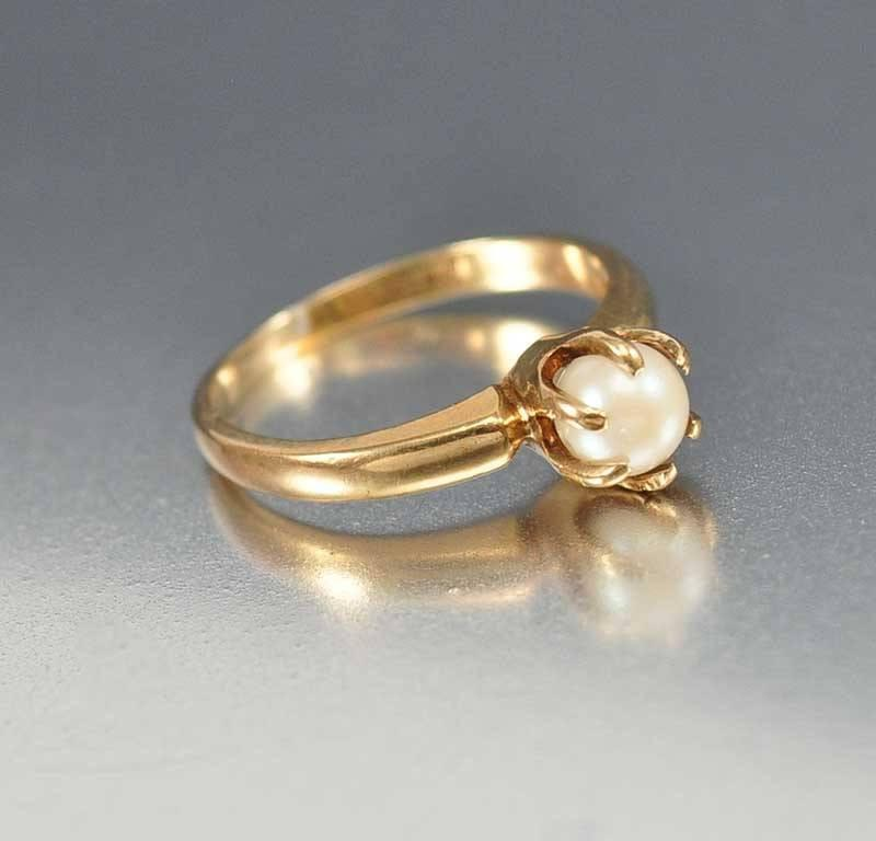 gold rose jewellery romantic pearl beautiful michelliadesigns so oh for look via solitaire vintage rings instagram a engagement