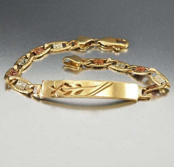 com gold bracelets img center quick rose bracelet diamond estate bangle crop solid collections vintage view bangles modern