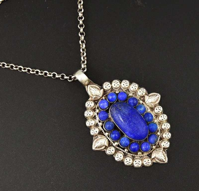 pendant made lapis antique lazuli products anti with collections gold parts large