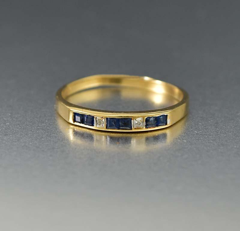 and blue engagement custom bands rings sapphire ring diamond
